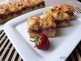 Ciasto Z Truskawkami I Kruszonka Przepisy Gotuj W Stylu Eko