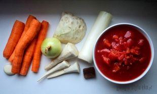 Najlepsza Pomidorowa Z Brązowym Ryżem Dietetyczna Zdrowa Pyszna
