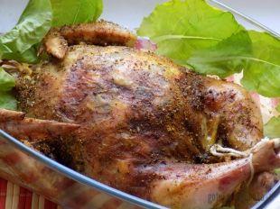 Pieczony Faszerowany Ryzem I Pieczarkami Kurczak Przepisy Gotuj