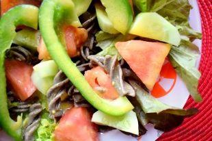 Prosta Wege Salatka Z Makaronem Gryczanym