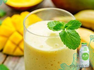 Mango Z Woda Kokosową Idealna Para I Postawa Koktajlu Spróbuj