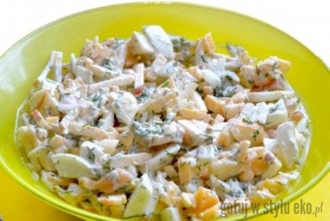 Salatka Z Jablkiem Na Kolacje Przepisy Gotuj W Stylu Eko